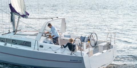 Moorings 38.1 sailing monohull exterior