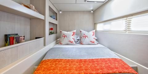Moorings 5800 second cabin