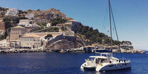 Athens Zea sailing