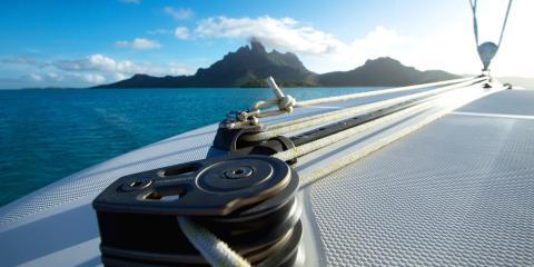 sailboat lines in Tahiti