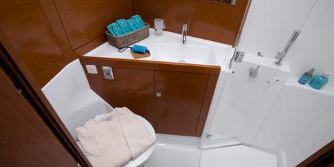 Moorings 45 Bathroom