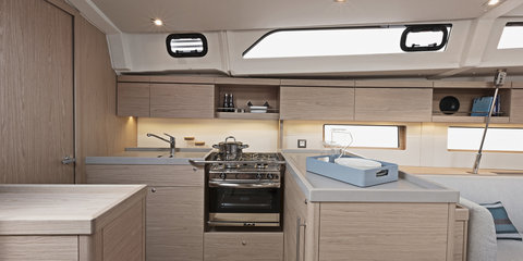 Moorings 47 Galley