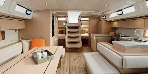 The Moorings 52.4 Galley
