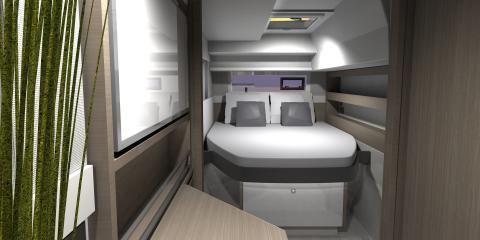 Moorings 4200 Owner Cabin