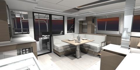 Moorings 4200 Interior