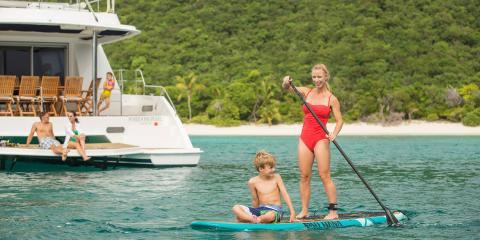 Paddle-boarding in St. Thomas
