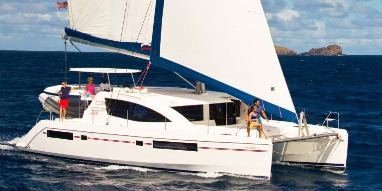 Moorings Sailing Catamaran