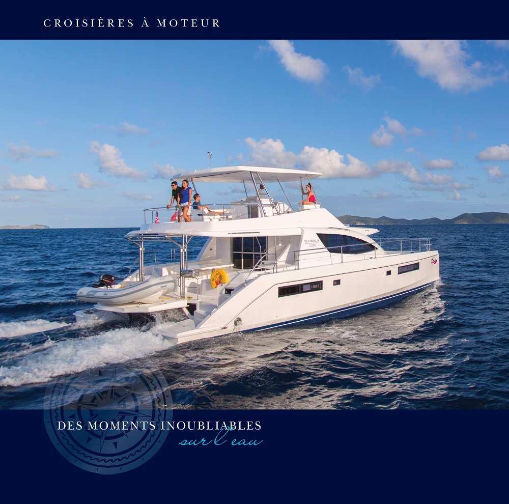 Brochure location de bateau à moteur