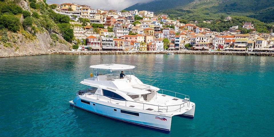 moorings 514 yacht location Mediterranée