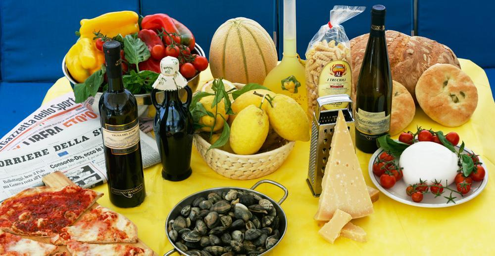 Cuisine gastronomique en Italie